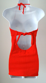 vintage 1940's swimsuit back
