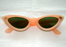 cat eyes 1950's sunglasses