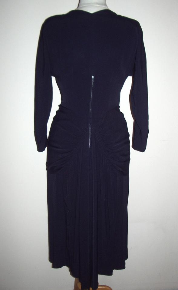 proper vintage clothing vintage dress gathered 1940 s