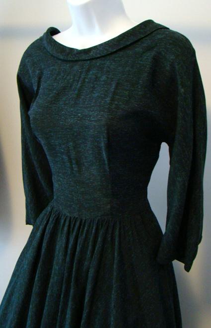 vintage 1950 s dresses v neck 50 s dress proper