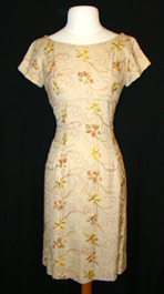 1950's dress with embroidery