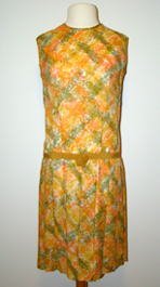 dropwaist 1960's dress