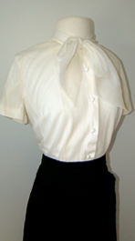 side of 1960's blouse